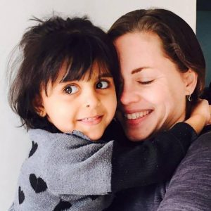 Megan and Child