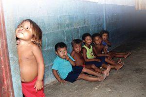Boys in Venezuela