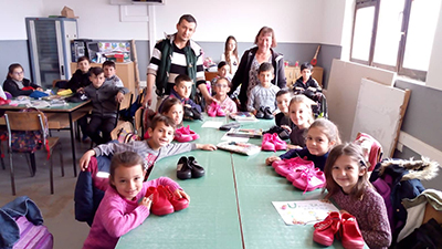 Shoes for Albanian Children