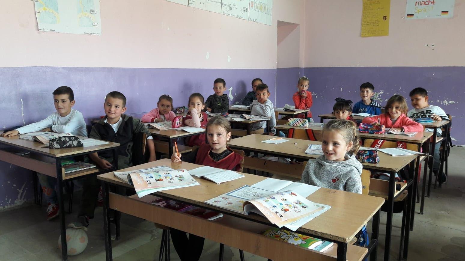 Albanian Village School Children
